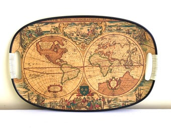 Old World Map Etsy - Old world map