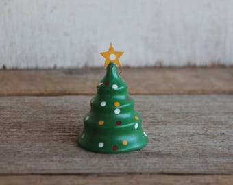 Wooden Vintage Christmas Tree Ornament