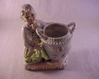 Japan Porcelain Figural Planter