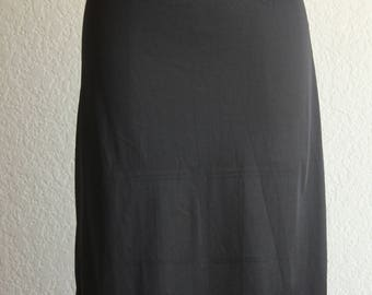 Vintage black half slip by Simone size small union label