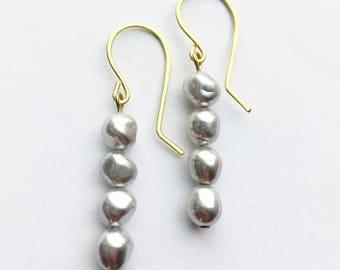 Gray Baroque Pearls
