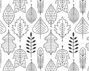 Nature Crib Sheets - Woodland Bedding /Change Pad Cover / Mini Crib Bedding /Black WHITE Neutral Bedding /Bloom Alma Mini Minimalist Bedding