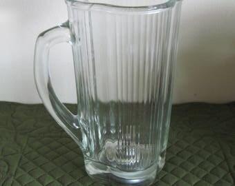 Vintage Waring Blender 5 Cup 40 Oz. Blender Jar Clover Leaf Shape Wagon Wheel Blade Replacement Part