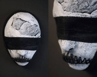 Blindfold - ceramic mask