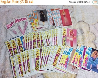 15% OFF 1991 Barbie Fashion Facts Trading Cards lot 75+