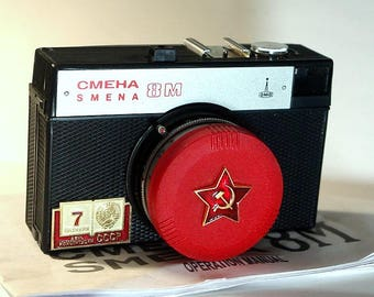 LOMO Compact SMENA-8M Camera in box -=Constitution Day of the USSR=-