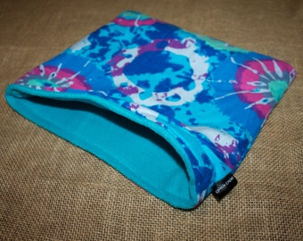 MEDIUM LARGE Tie Dye pouch for small pets - Guinea Pigs, Rats, Rodents, Hedgehogs and more!