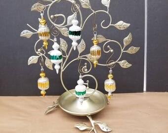 Set of 7 Vintage Christmas Ornaments