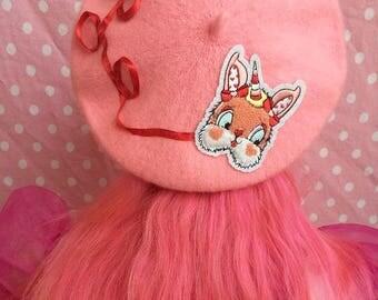 Bunny Unicorn Beret