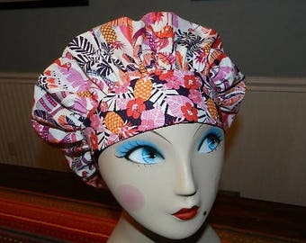 Shake your Tailfeather  Banded Bouffant Surgical Cap Bakers Cap/Chef Cap