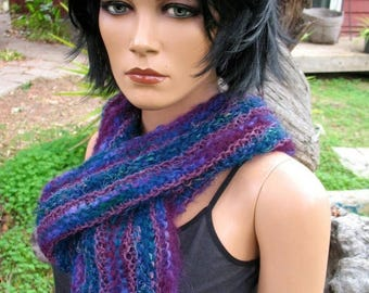 15 % off Gorgeous Hand Knit Wool and Silk Scarf Given to Me In 1994 I Have Never Worn It