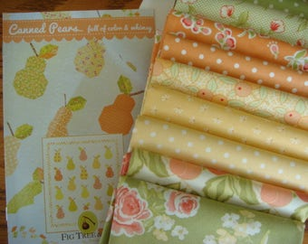 Canned Pears Quilt Kit - Moda Fabric by Fig Tree