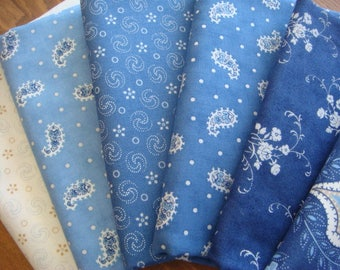 Grand Traverse Bay - Fabric Bundle in various sizes -  Fabric by Minick & Simpson from Moda