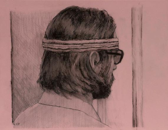Richie Tenenbaum, Drawing 8.5x11in