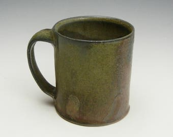 Salt/soda fired mug