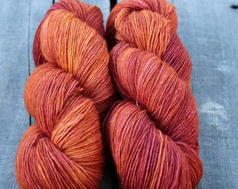 Merino Light - Pumpkin - Colour Adventures (Fibers: Superwash Merino)