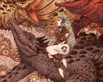 "Through The Fire Metallic 8x10"" Print"