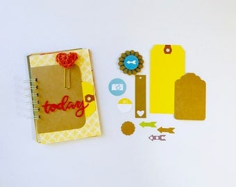 Today Scrapbook, Day in the Life, Mini Album, Travel Journal, Smash Book, Mixed Media