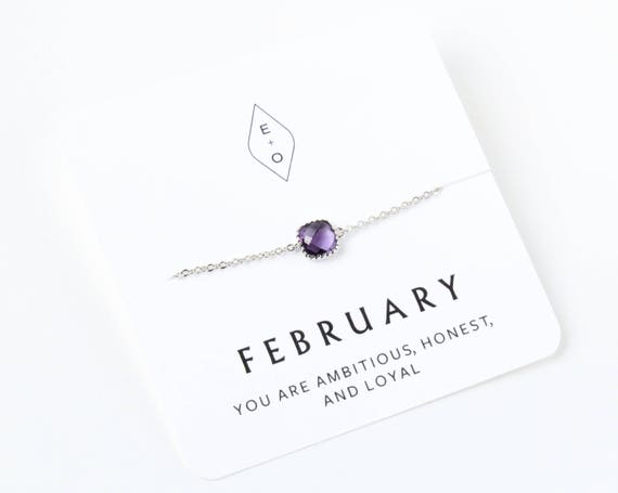 Silver Personalized Birthstone Bracelet | Birthday Gift | Bridesmaids Gift | Gift for Her | Gemstone Bracelet | Opal Bracelet |  Opal