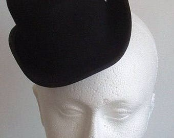 SALE Felt Mini Top Hat  - Black WAS 27 NOW 22