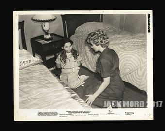 Rare Original 1952 Movie Photo MARILYN MONROE Don't Bother to Knock Promo Still