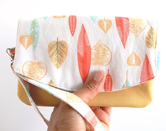 Cell Phone Purse - Birthday Gift for Her - Cellphone Wallet - Smartphone Wallet - Smartphone Clutch - Summer Purse - Ready to Ship