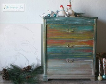 Boho Mini Sunset Dresser