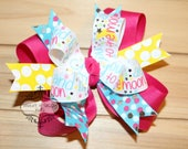 STORE CLOSING, Love You To The Moon & Back Hair Bow, Stars