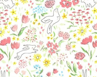 SALE 10% Off - Garden DC7054 - SOMMER by Sarah Jane - Michael Miller Fabric  - By the Yard