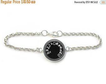 ON SALE Photography Jewelry Camera Mode Link Bracelet in Bronze or Silver