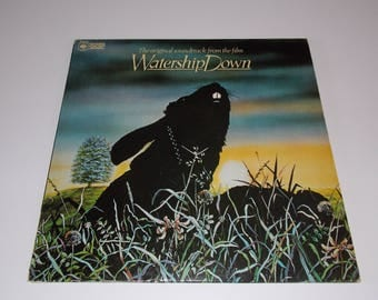 1978 - Watership Down - Original Soundtrack From The Film - LP Vinyl Record Album / Classical  / Richard Adams