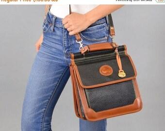 SUMMER SALE Dooney + Bourke Leather Crossbody Bag