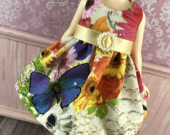Blythe Dress - Floral with Belt