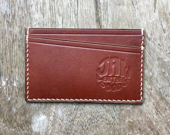 Sdwys Card Wallet - slim wallet - leather card case - minimalist - simple