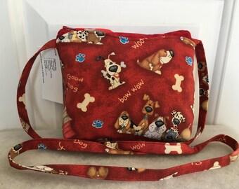 Red Dog Mini-Shoulder Bag