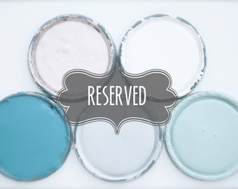 Reserved for Stephanie