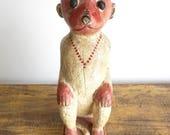 Monkey Wooden Animal Handpainted Figure Hanuman