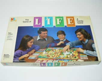 1985 The Game of Life - Vintage Classic Family Fun Board Game Complete Milton Bradley