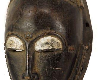 Yaure Baule Portrait Mask Mblo Ivory Coast African Art 106957
