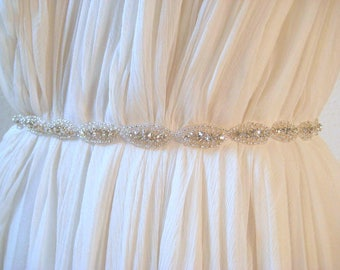 Beaded bridal belt | Etsy