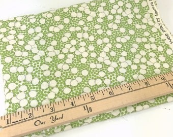 Green Dots, Wee Play, American Jane, Moda, Sandy Klop, 25 inches, **PRE-WASHED**