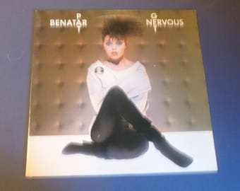 Pat Benatar Get Nervous Vinyl Record LP CHR 1396 Chrysalis Records 1982