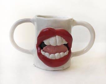 Loud Mouth Mug - Pearly Whites