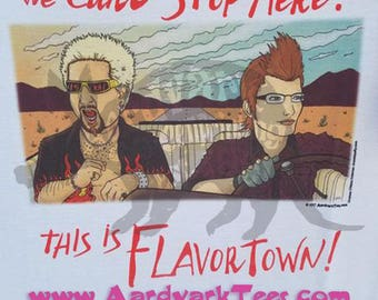 We Can't Stop Here - This is Flavortown - Ignis - Guy Fieri - FFXV Final Fantasy 15 Fear & Loathing in Las Vegas Parody Tee