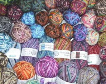 Sock Yarn Surprise Pack