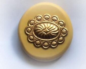 Concho flexible silicone mold/ fondant/ cake decoration