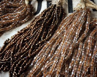 I Opened An Old Box And Found The Most Wonderful Antique Seed Beads