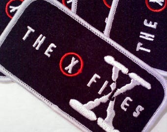X Files Iron on/Sew on Patch