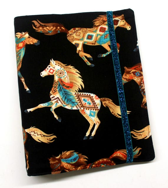 Southwest Horses Wip Tracker Cover And Binder From