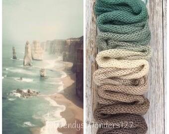 Gradient Yarn, Hand Dyed Yarn, Yarn, Fingering Weight Yarn